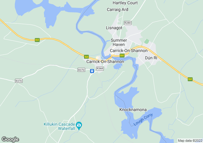 Map for 26 Glenpatrick, Carrick-on-Shannon, Roscommon