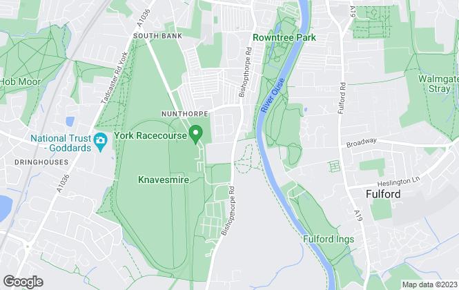 Map for S Harrison Developments Ltd, York