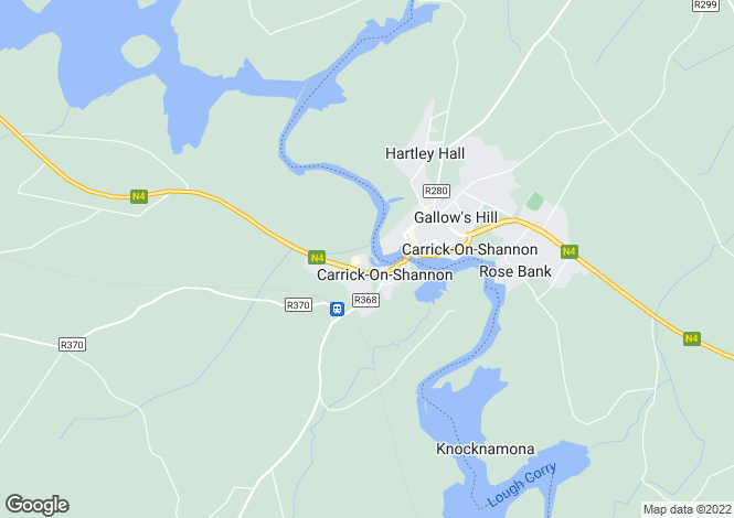 Map for 27 Inver Gael, Carrick-on-Shannon, Roscommon