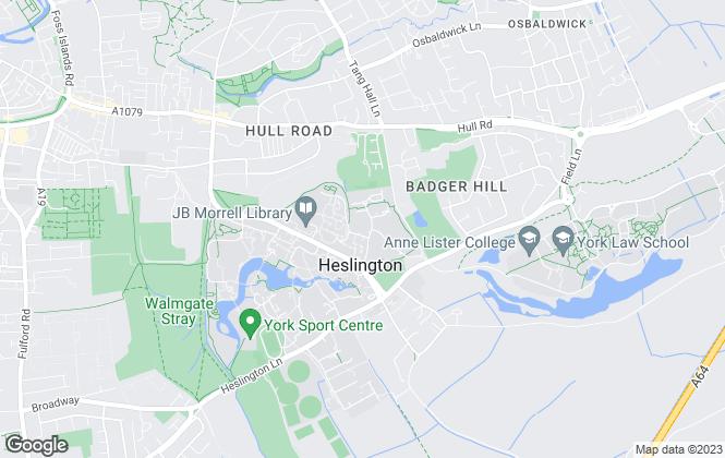 Map for Prime Residential, York