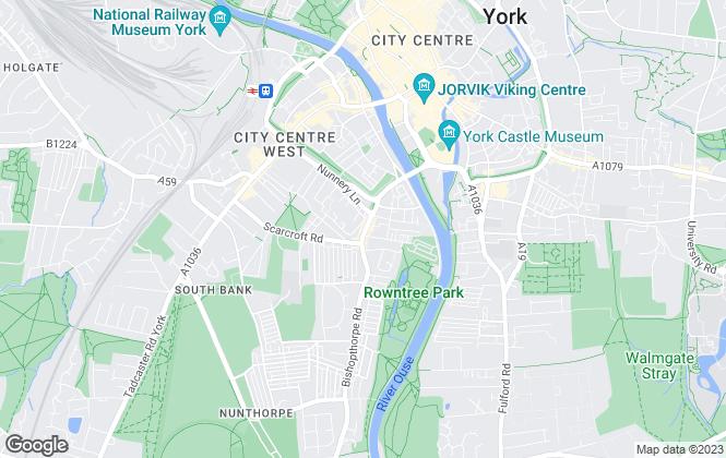 Map for Churchills Estate Agents, York