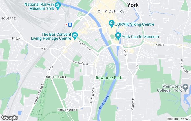 Map for Churchills Estate Agents, York