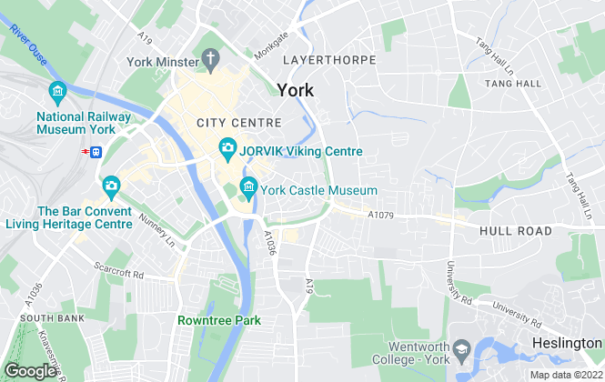 Map for Preston Baker, York