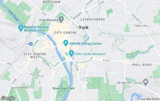 Map for Quantum Estate Agents, York