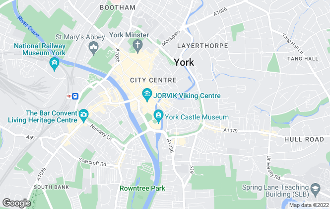 Map for Letters Property Management Ltd, York