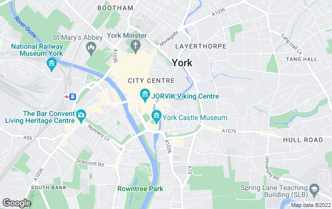 Map for Belvoir, York