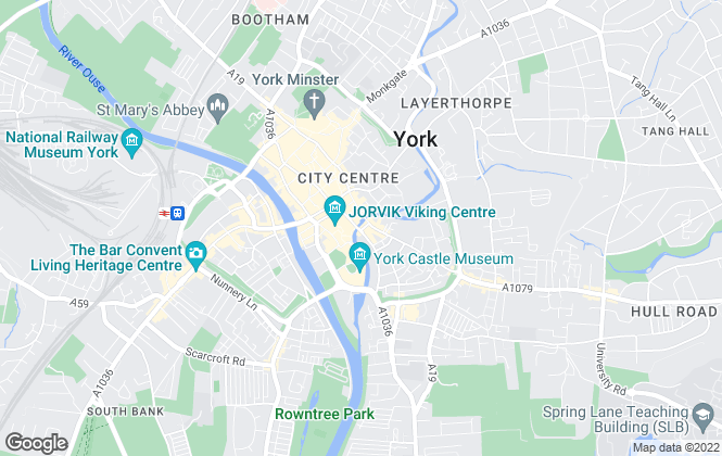 Map for Savills, York