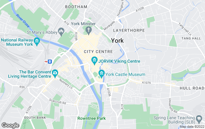 Map for City Lets, York