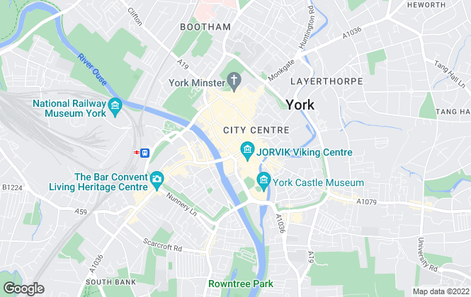 Map for Redmove, York