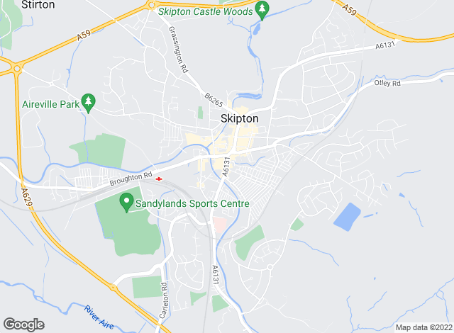 Map for Harrison Boothman, Skipton