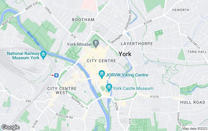 Map for Stephensons, York - Lettings