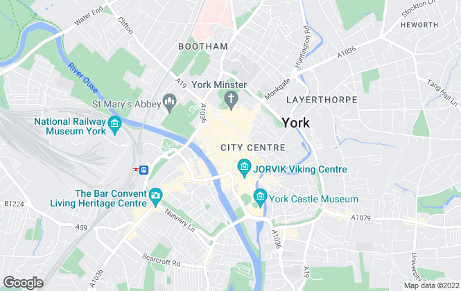 Map for Wishart Estate Agents, York