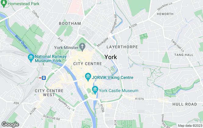 Map for Whitegates, York
