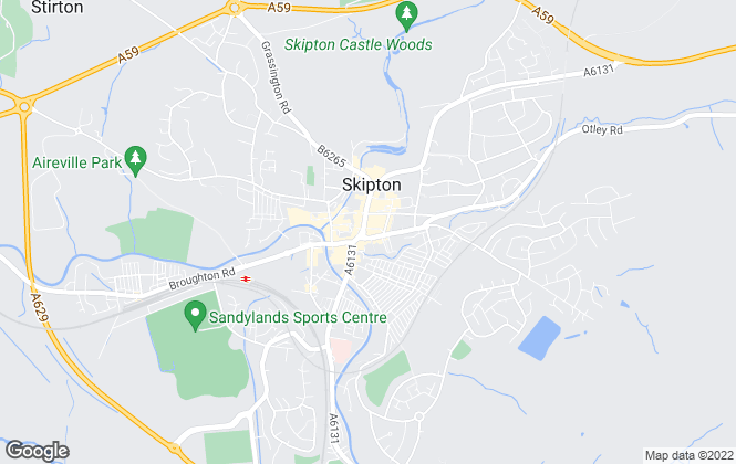 Map for Park Mill Properties Limited, Skipton