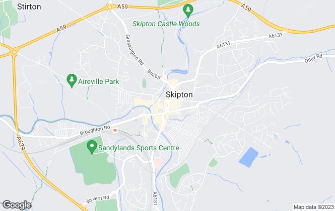 Map for Carling Jones, Skipton