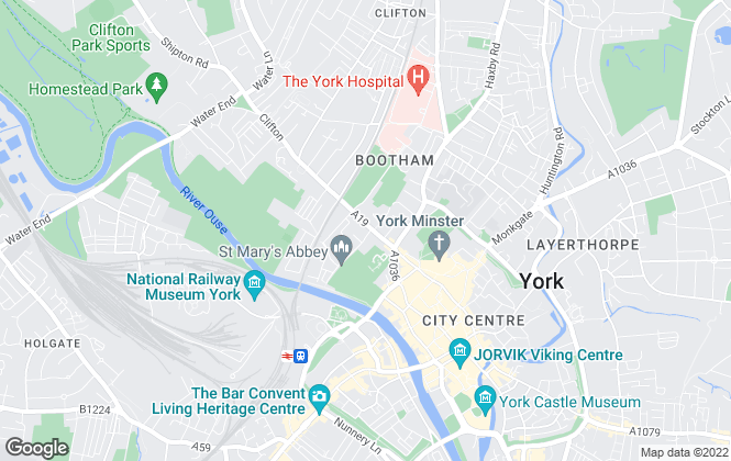 Map for Smiths Gore, York