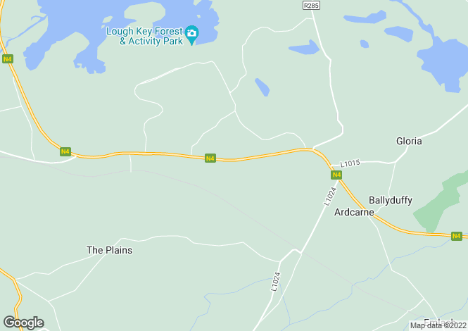 Map for Boyle, Roscommon