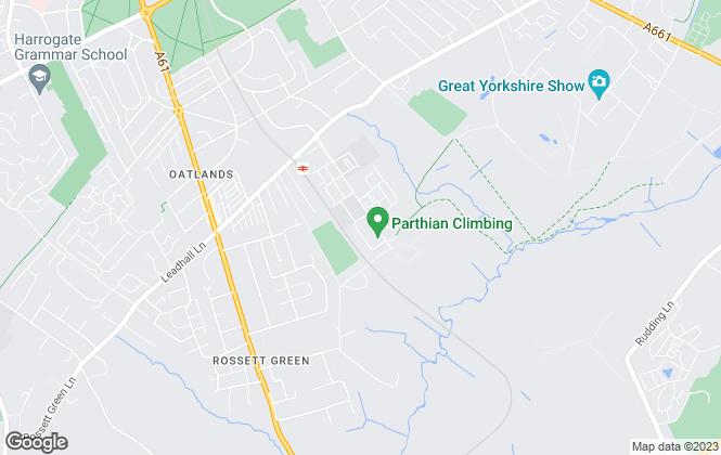 Map for UK Student Houses, Harrogate