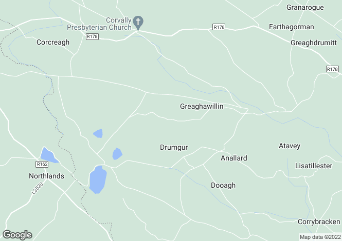 Map for Greaghawillin, Carrickmacross, Monaghan