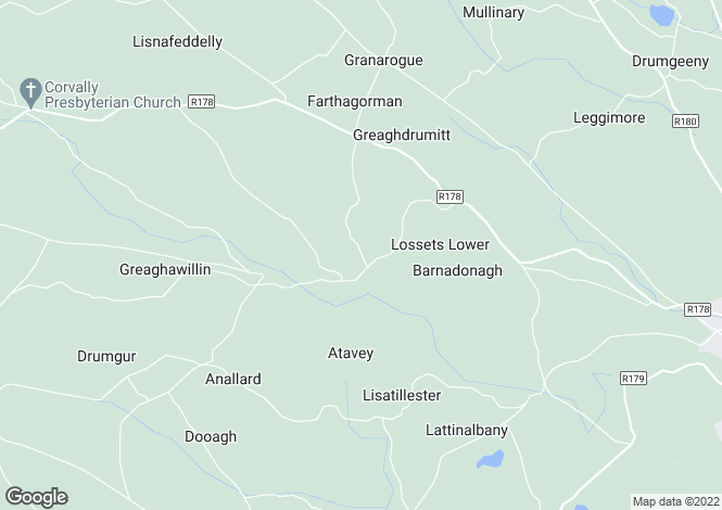 Map for Greaghwillan, Carrickmacross, Monaghan