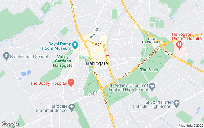 Map for Linley & Simpson, Harrogate