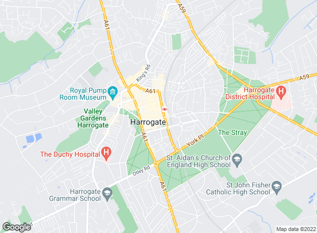 Map for Beadnall & Copley, Harrogate - Lettings