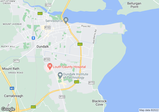 Map for Development Site @ Avenue Road, Dundalk, Louth