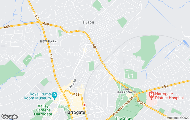 Map for R & W Lettings and Property Management, Harrogate