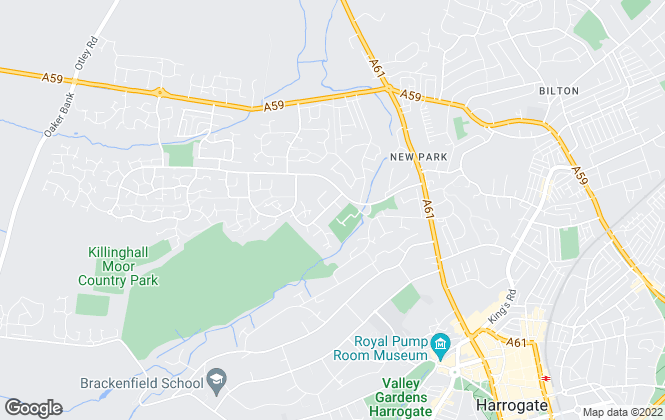 Map for esale Ltd, Harrogate