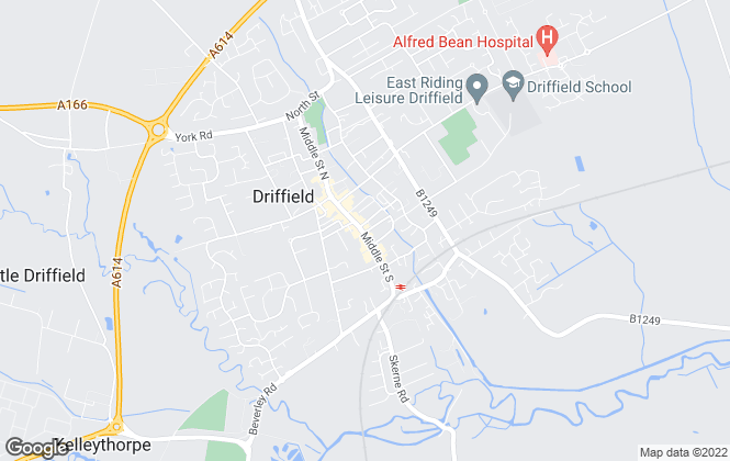 Map for Ullyotts, Driffield