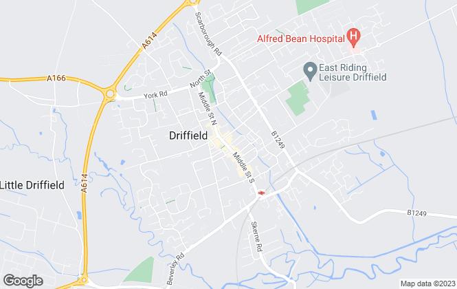 Map for Dee Atkinson & Harrison, Driffield - Lettings
