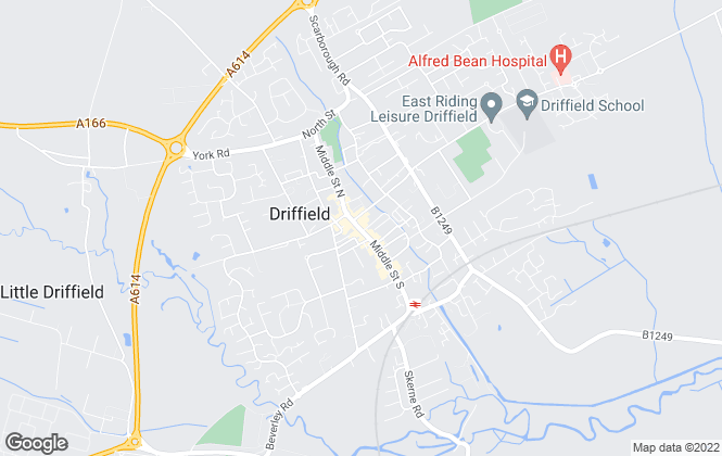 Map for Dee Atkinson & Harrison, Driffield - Lettings