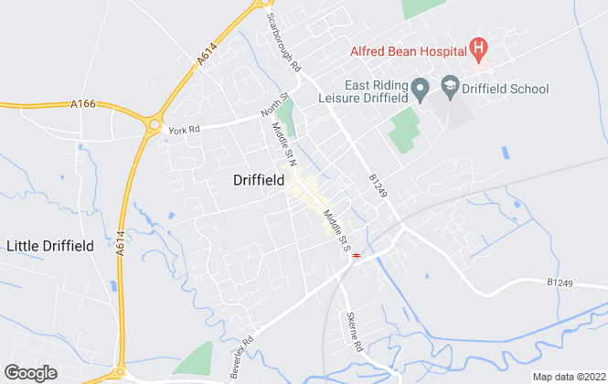 Map for Reeds Rains , Driffield