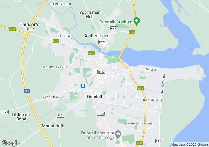 Map for 23A MarketStreet, Dundalk, Louth