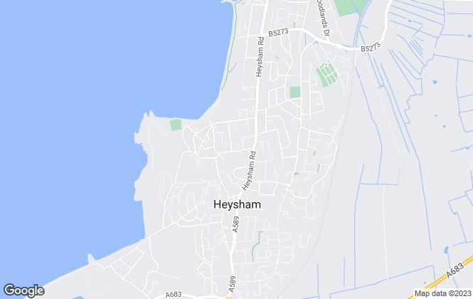 Map for Jennings Estate Agents, Lancashire