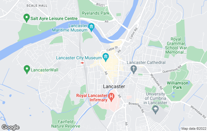 Map for Royle Estates, Lancaster