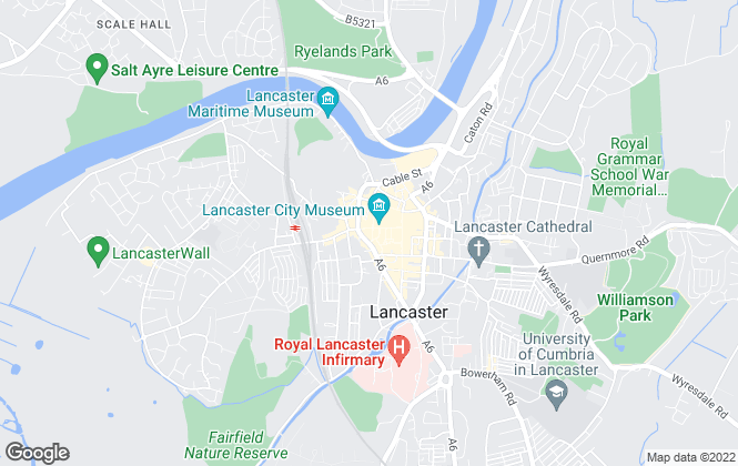 Map for Entwistle Green, Lancaster