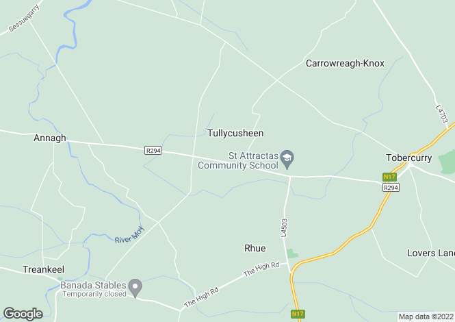 Map for Drimina, Tubbercurry, Co. Sligo