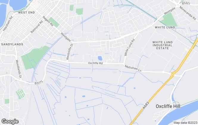 Map for park.homes.co.uk, Morecambe