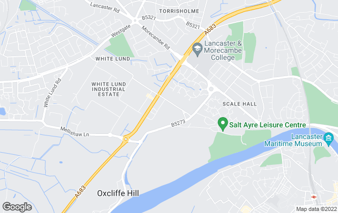 Map for Armadillo Self Storage, Armadillo Morecambe