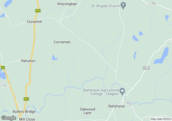 Map for Drumliff, Cloverhill, Cavan