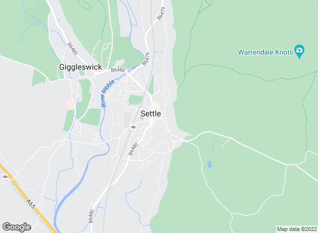 Map for Dacre Son & Hartley, Settle