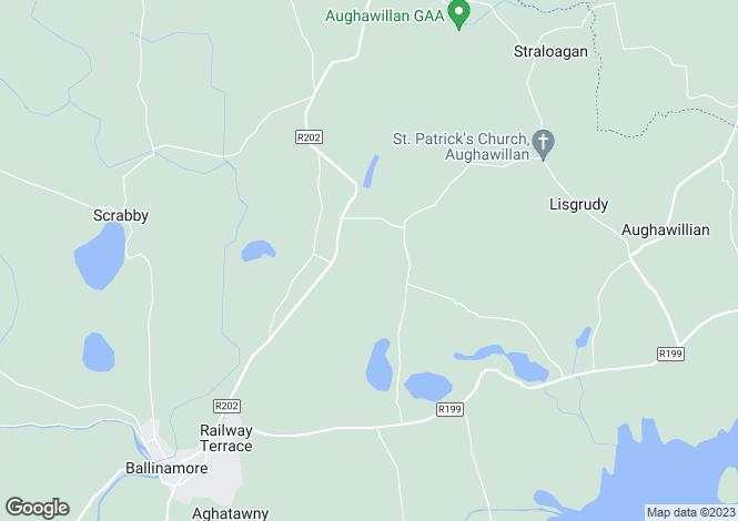 Map for 'Model Farm' Cleendargan, Ballinamore, Leitrim