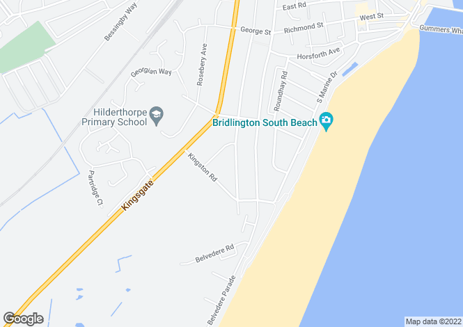 Map for St. James Road, Bridlington, East Riding of Yorkshi, YO15 3NJ