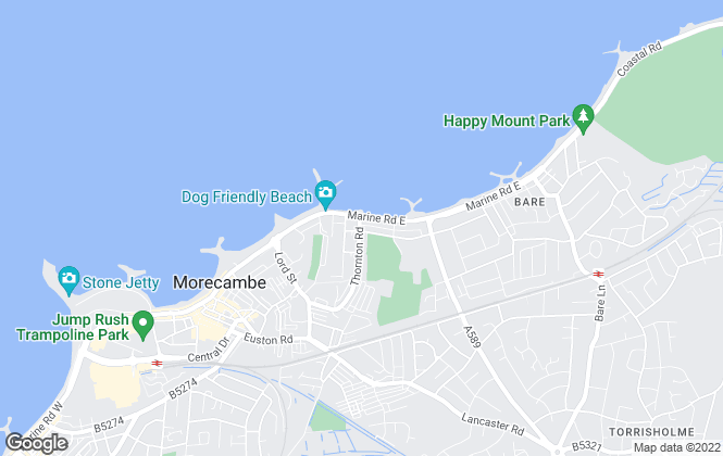 Map for Purple Property Group, Morecambe