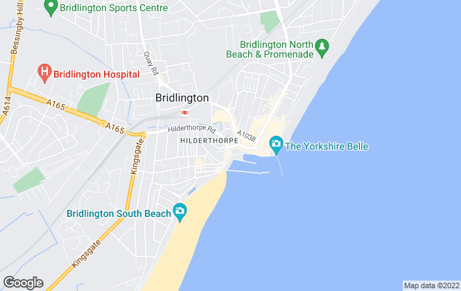 Map for Four Walls Or More, Bridlington