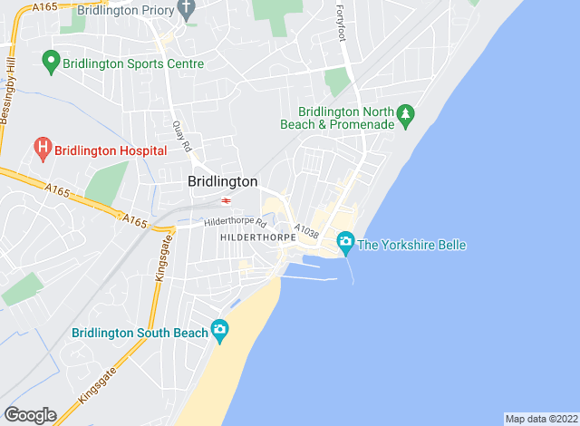 Map for Hunters, Bridlington