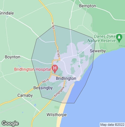 Map of property in Bridlington