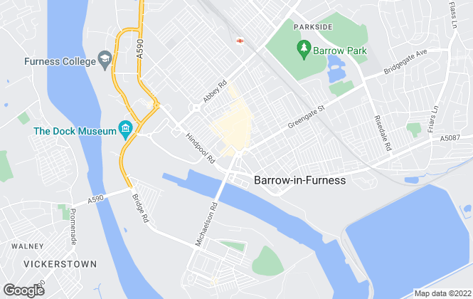 Map for Corrie and Co Ltd, Barrow In Furness