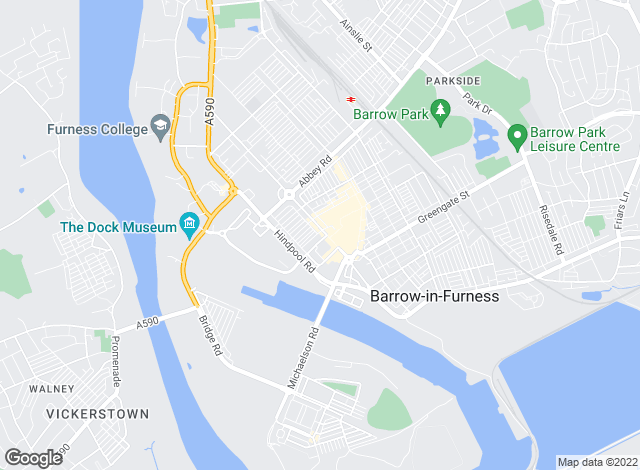 Map for Poole Townsend, Barrow in Furness - Sales